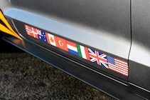2015 ford mustang s550 f 35 lightning ii flags