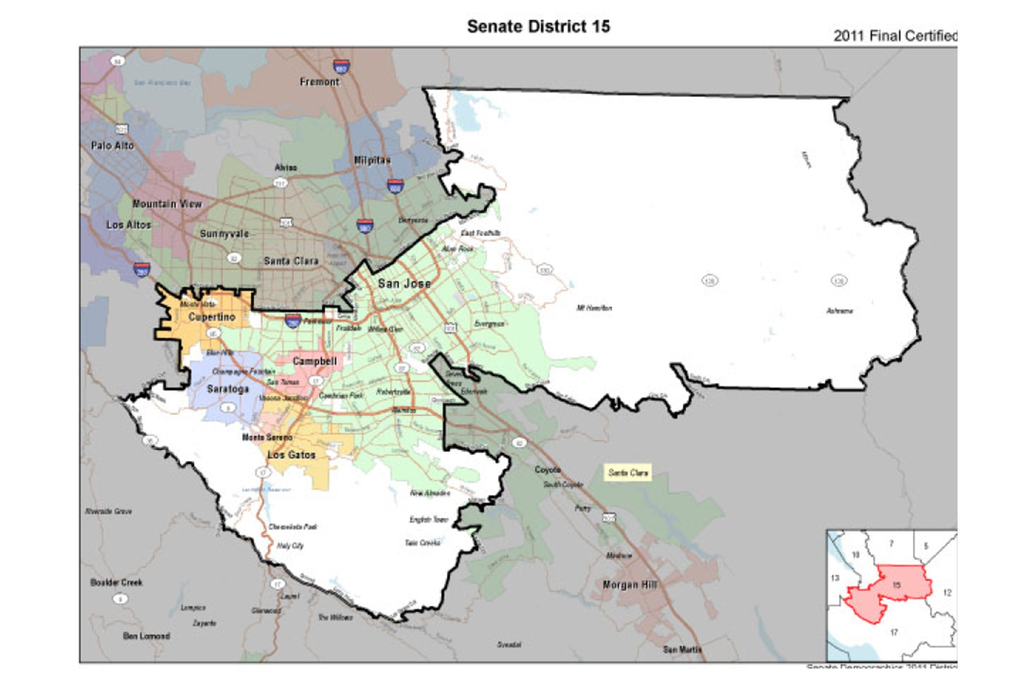 001 Beall 15 District