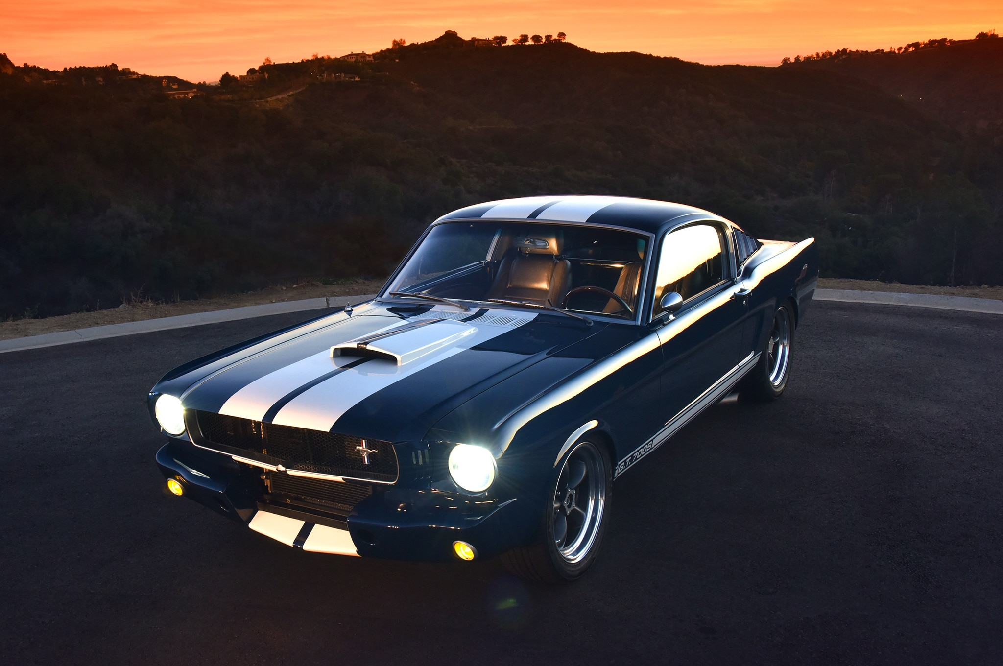 1 1965 Ford Mustang Front View