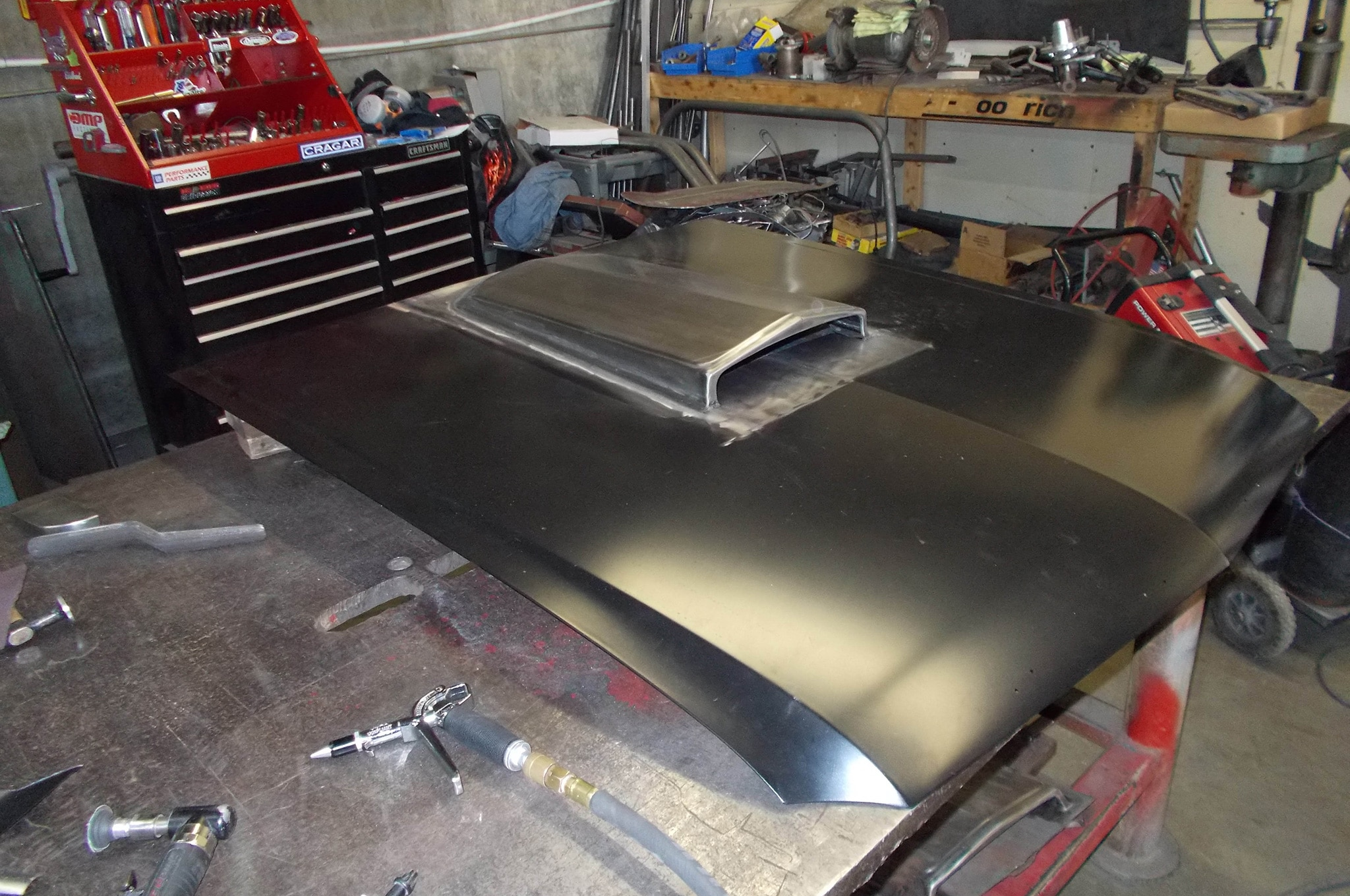 6 1965 Ford Mustang Hood