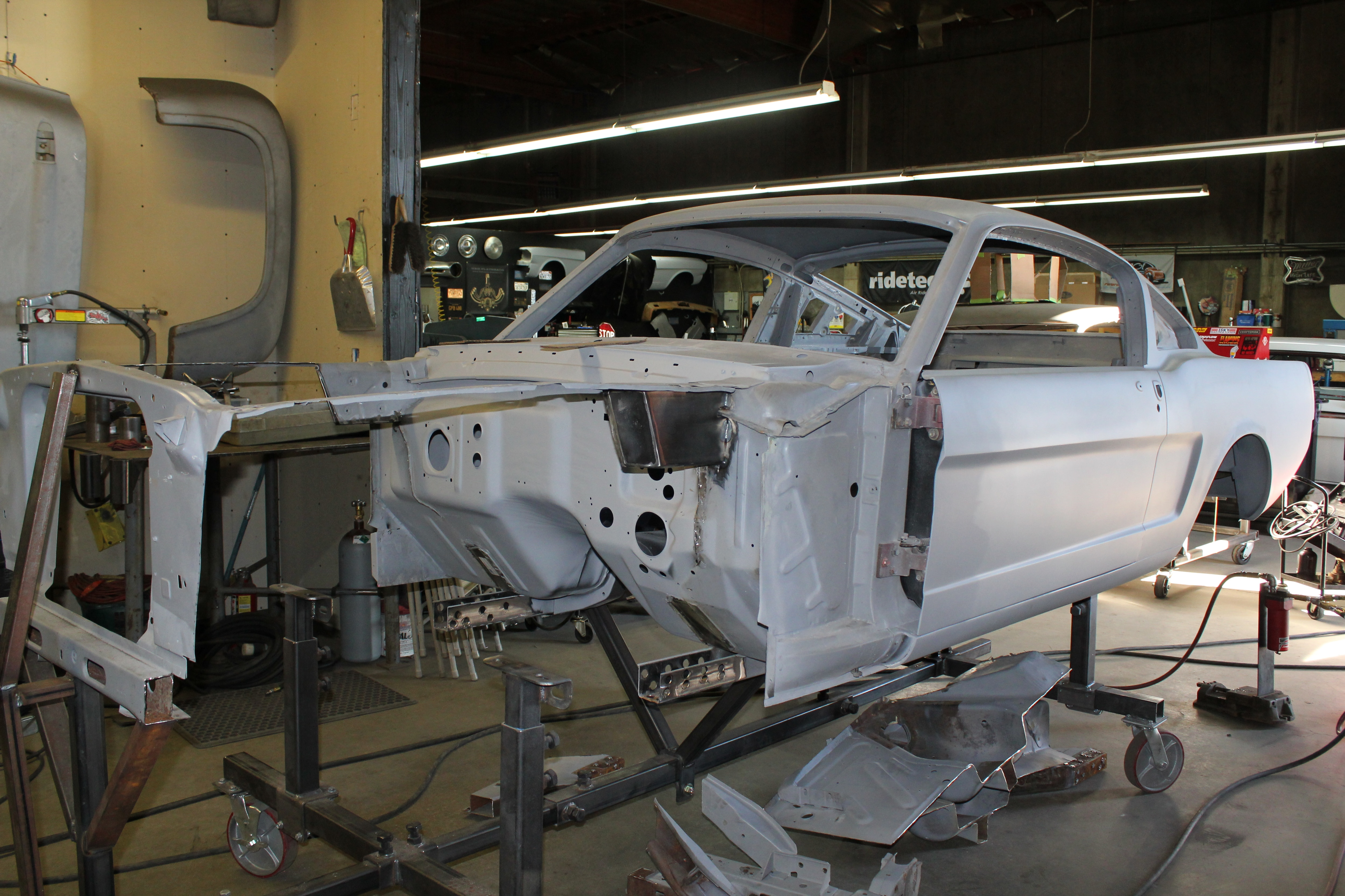 13 1965 Ford Mustang Frame