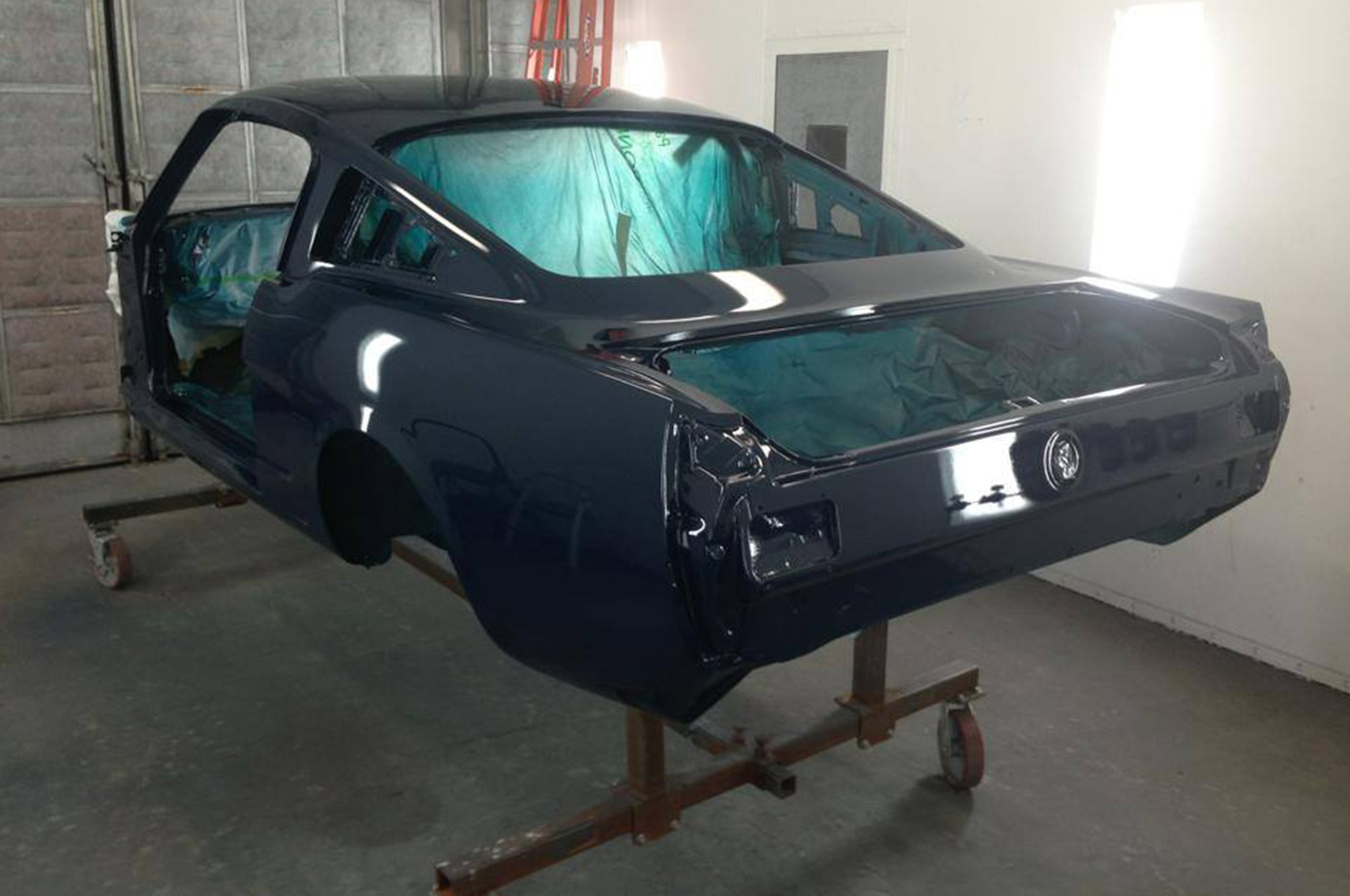 23 1965 Ford Mustang Paint