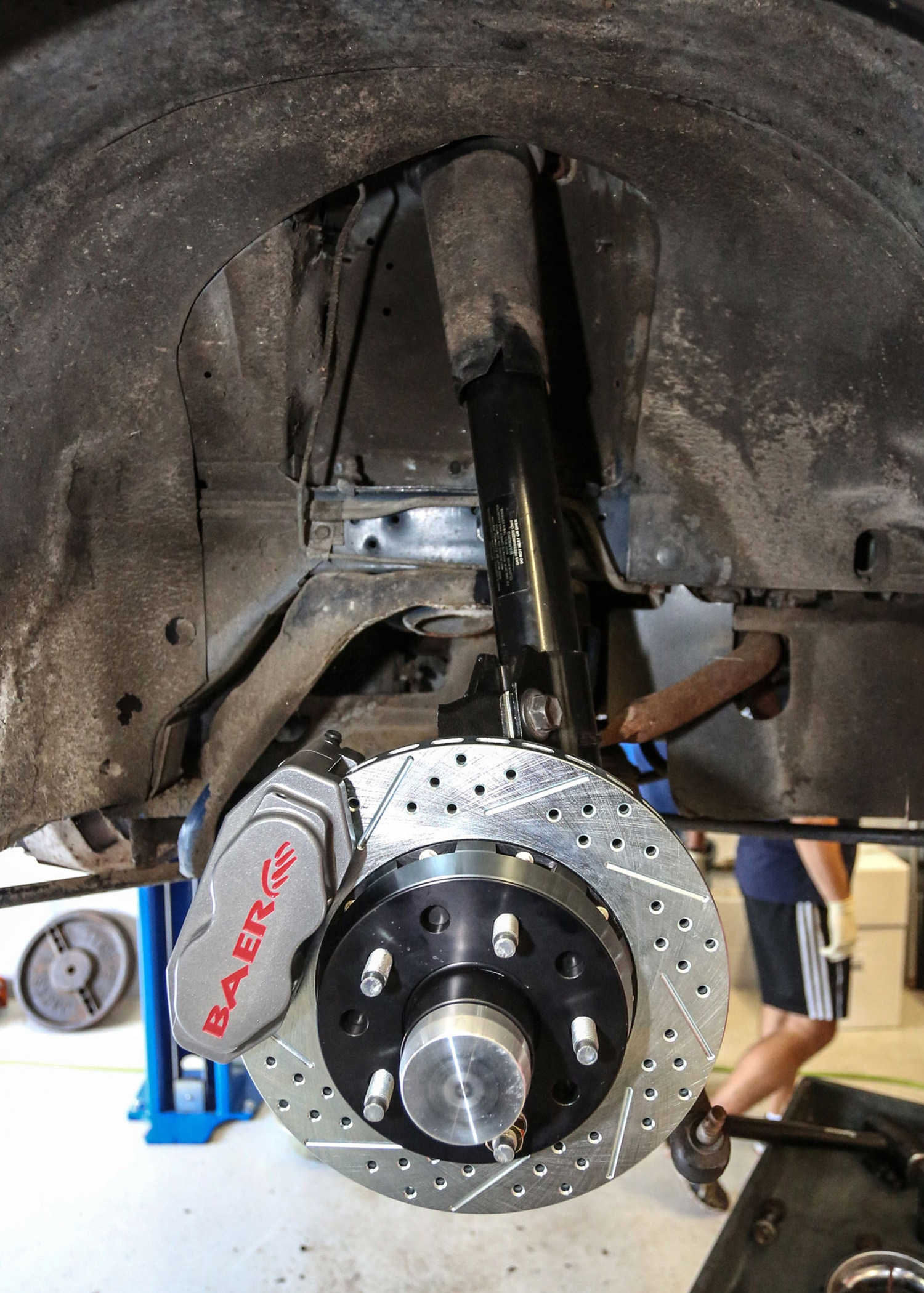 15 Baer Brakes 1989 Ford Mustang Install - Photo 100576146