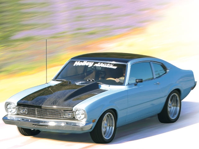 1970 Ford Maverick Front View