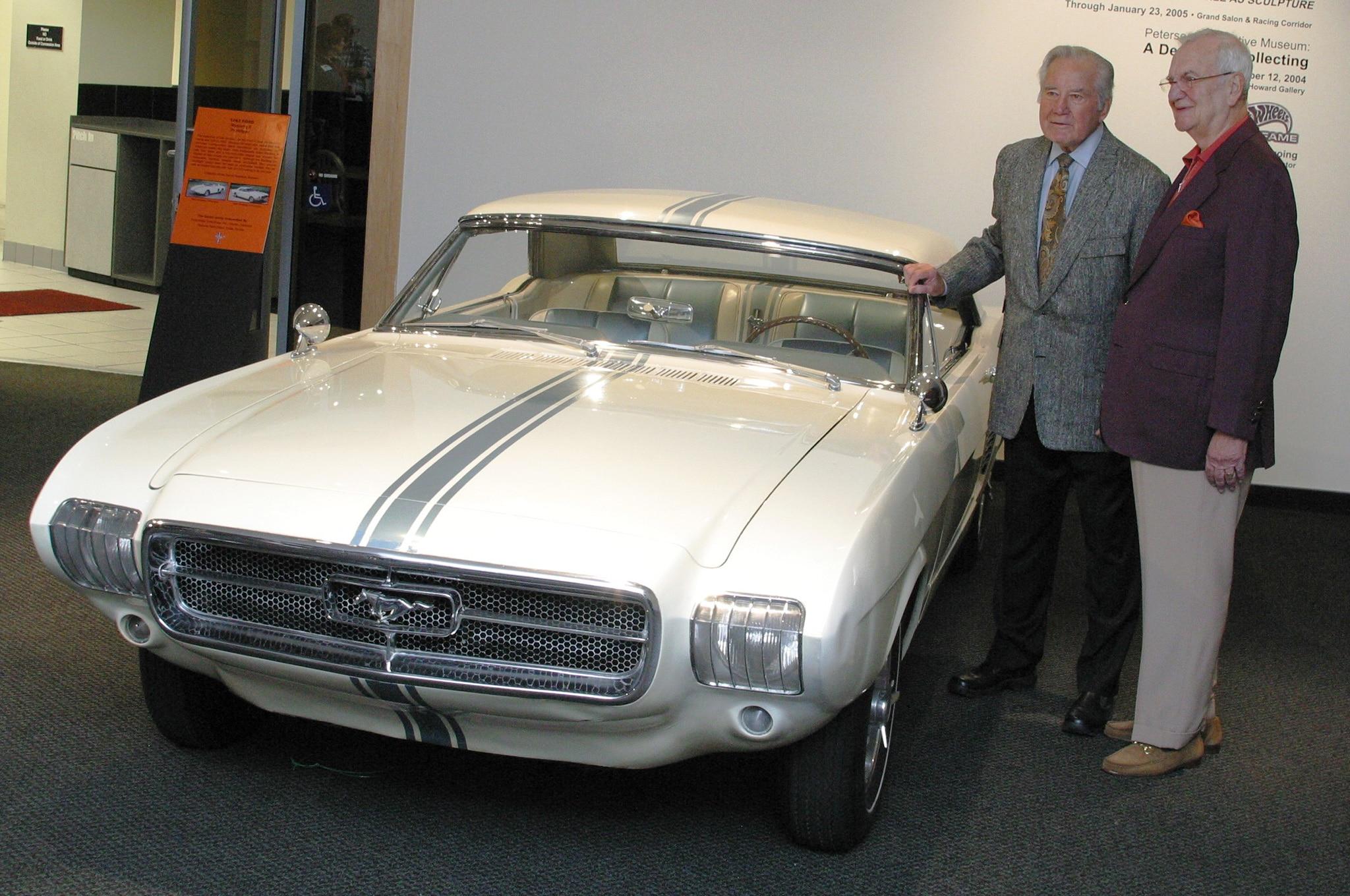 20 1963 Ford Mustang 2 Robert Petersen Lee Iacocca