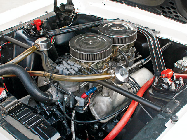 1967 Ford Mustang Hardtop Engine