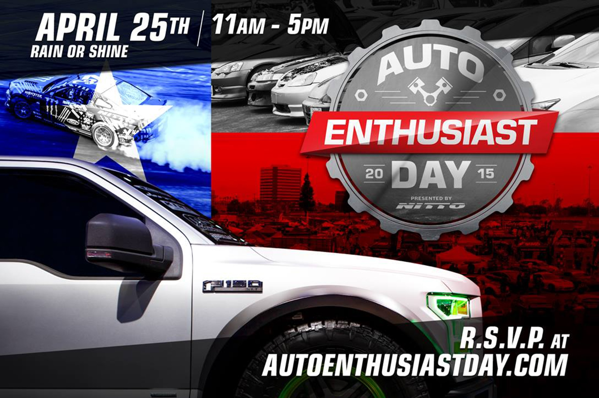 Auto Enthusiast Day Flyer