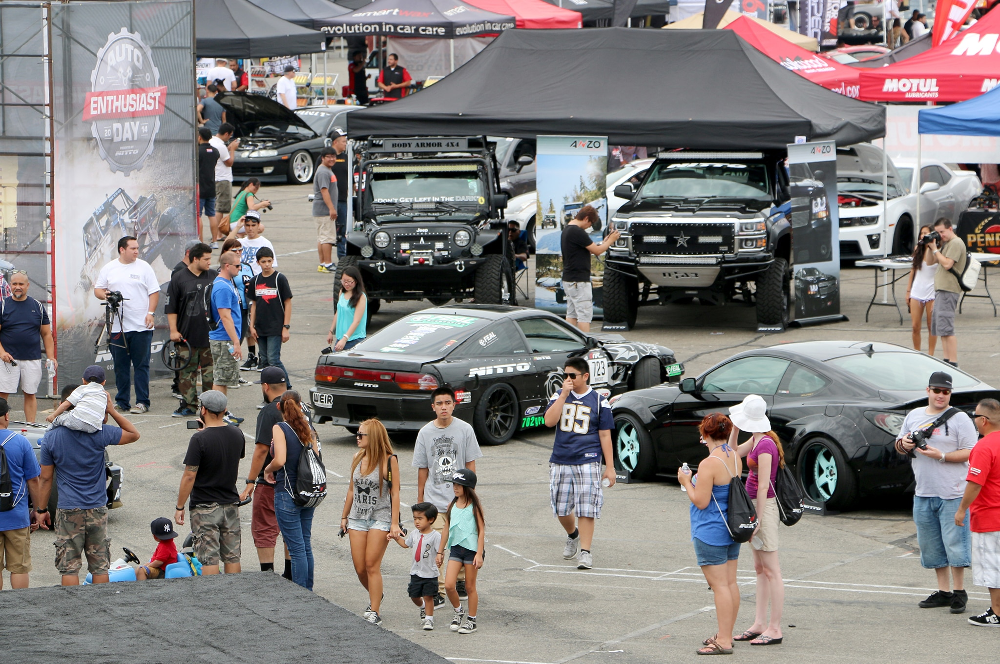 Auto Enthusiast Day Attendees
