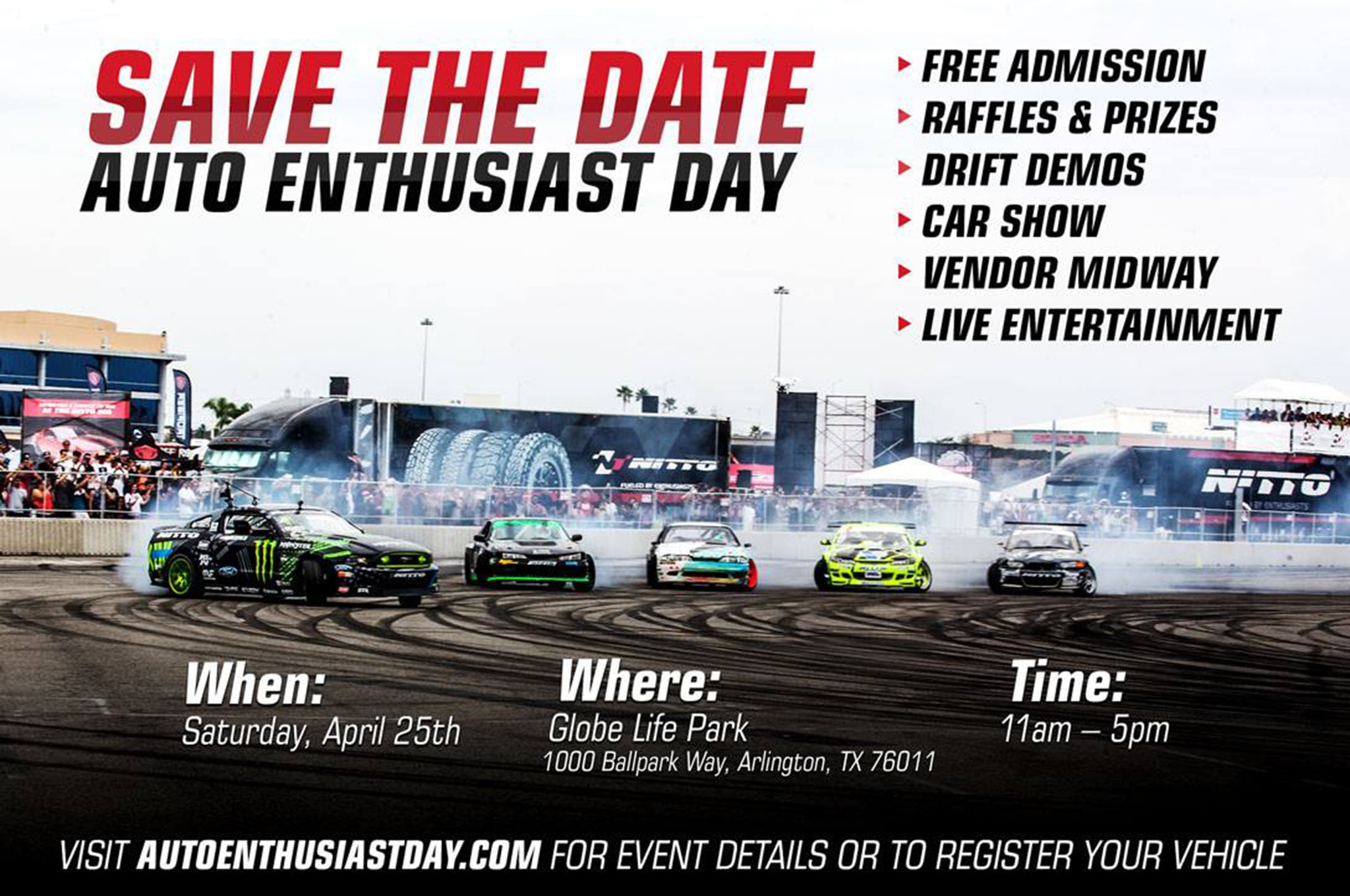 Auto Enthusiast Day Save The Date