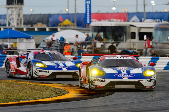 001 2016 Ford GT Rolex 24 Daytona Results