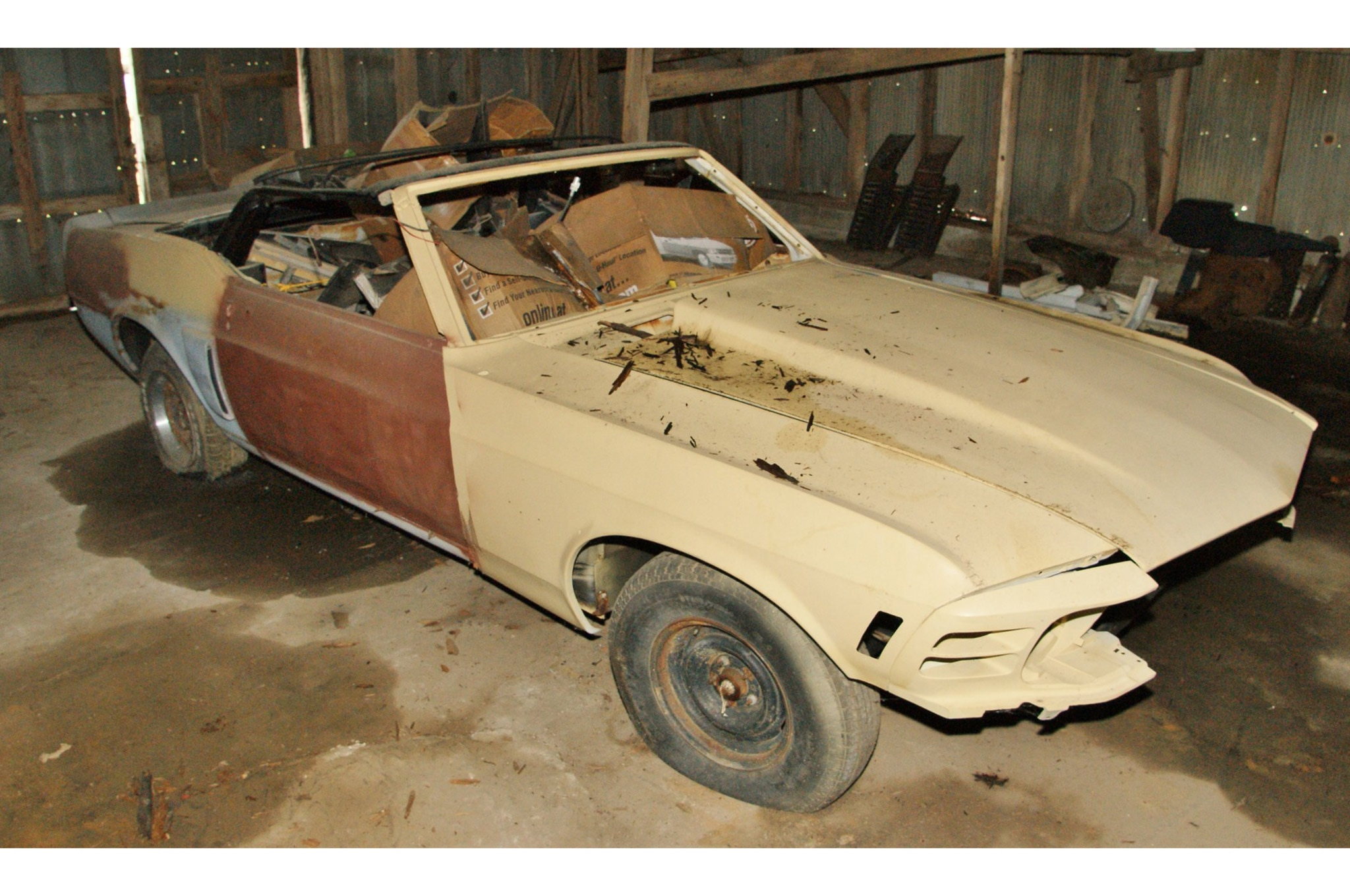 Rare Field Finds Fords Mustangs Trucks Parts 21