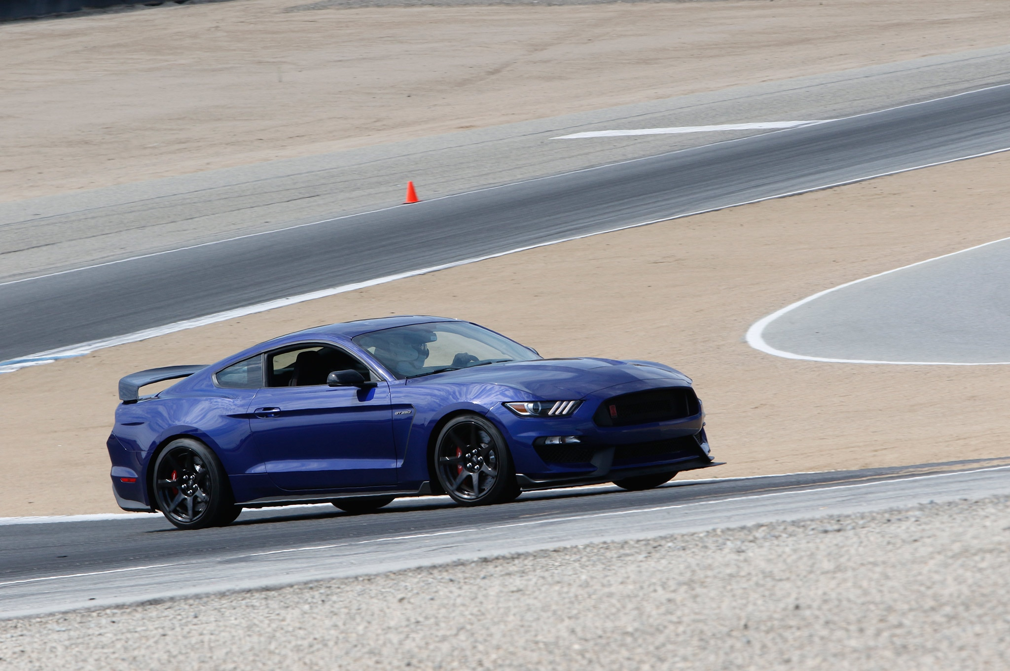 Shelby Mustang Gt350 Track 003