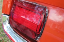 07 1965 Mustang Taillight Lens Cleaned And Polished