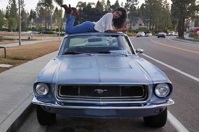 1968 Ford Mustang Monica Moreno 01