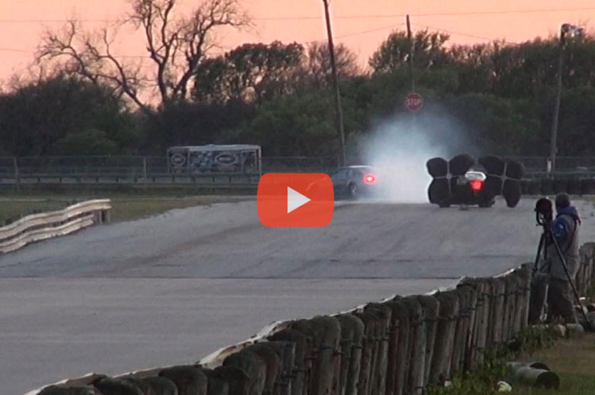 001 Doug Paddock Mustang Chute Fails Video