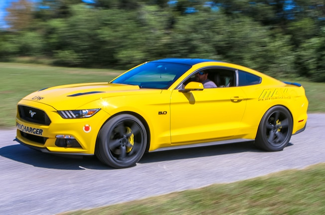 2015 Ford Mustang Front Thee Quarter