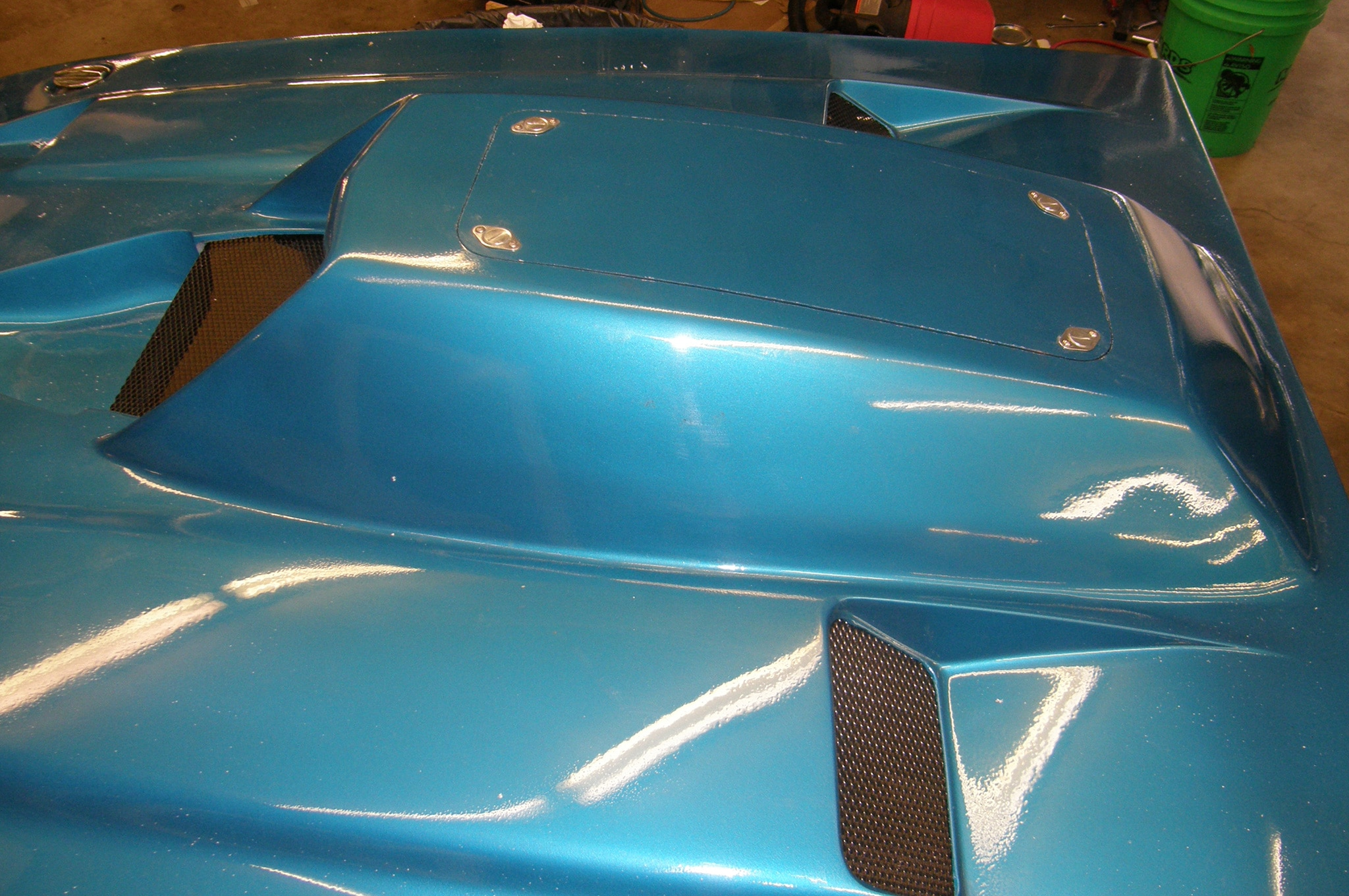 9 1969 Ford Mustang Hood Scoop