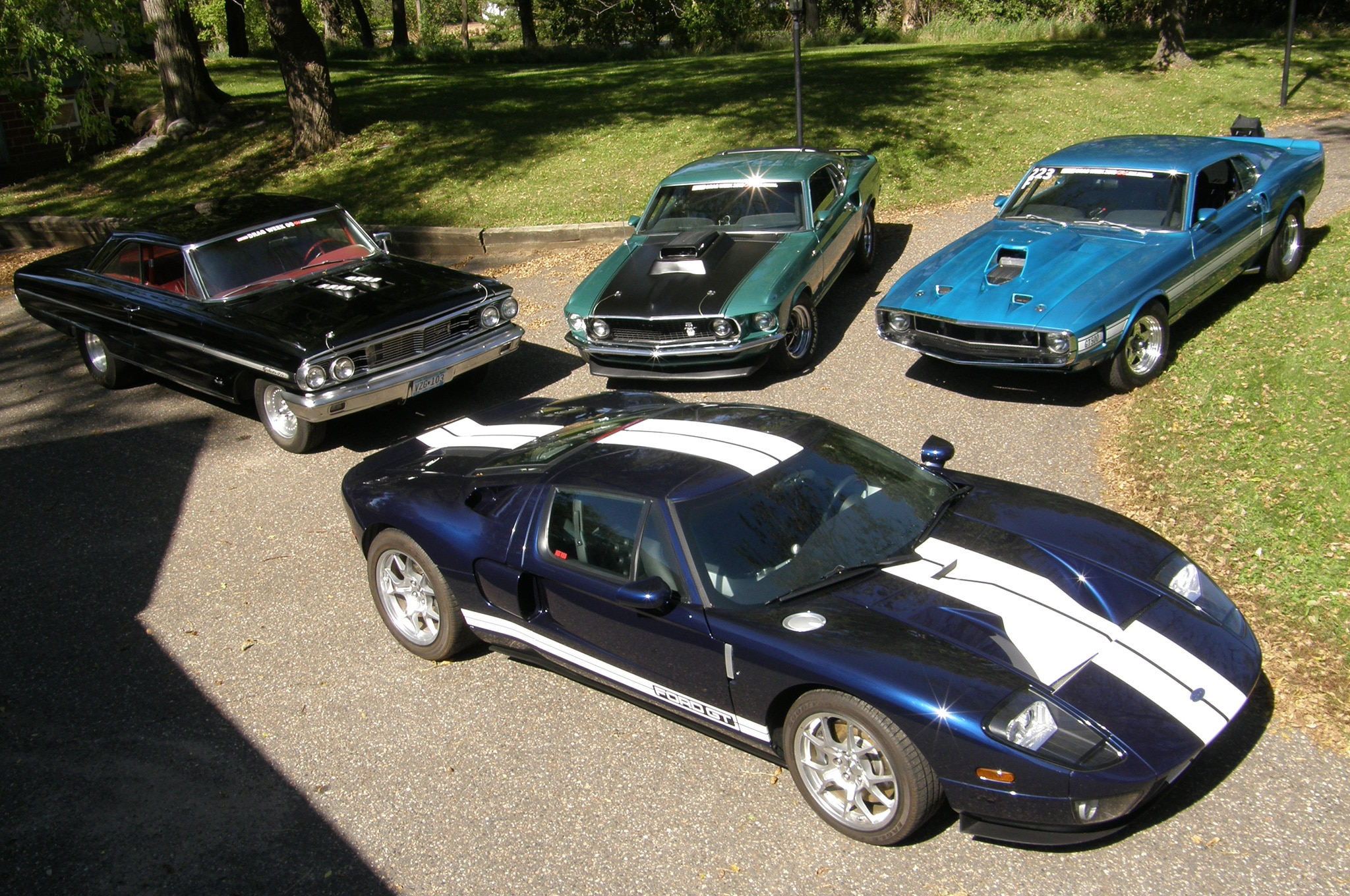 17 2009 2006 1969 2005 Ford Mustangs