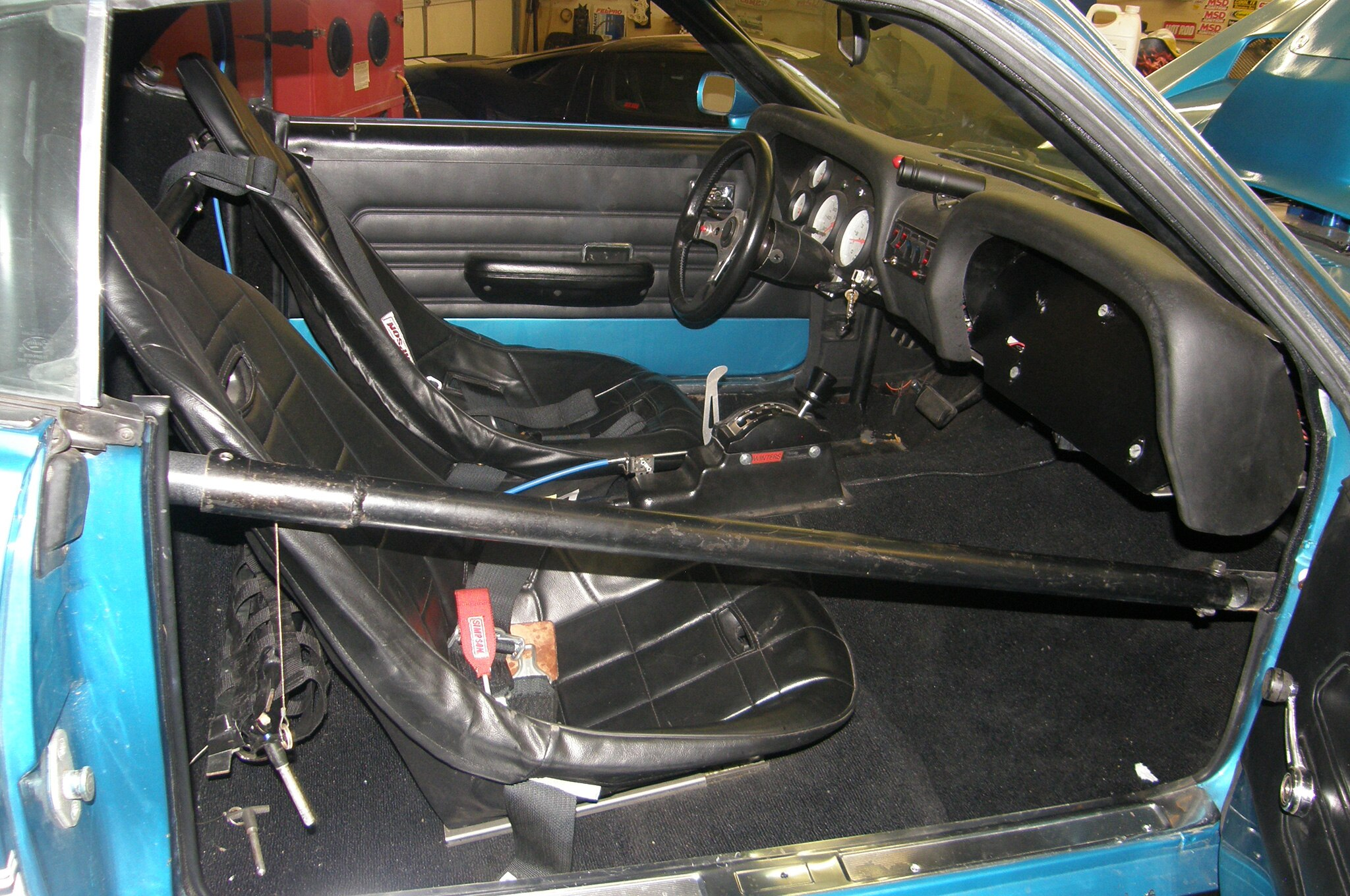 20 1969 Ford Mustang Interior Rollcage