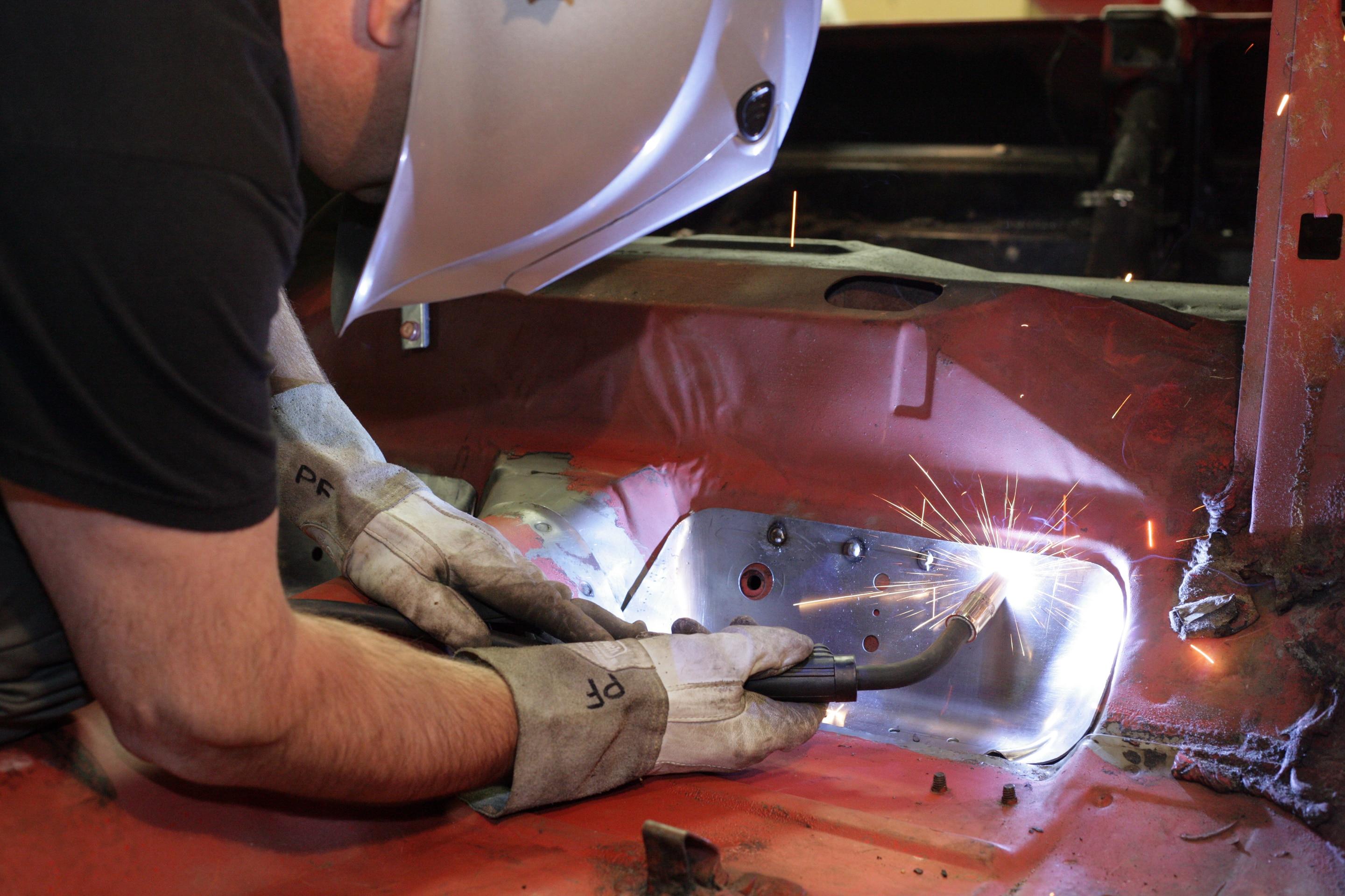 11 Mustang Floor Pan Reinforcement