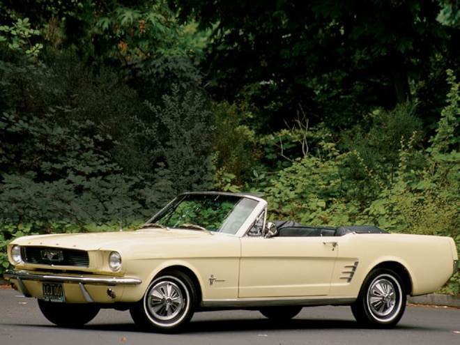 1966 Ford Mustang Convertible - Straight 6 Mustang Engine