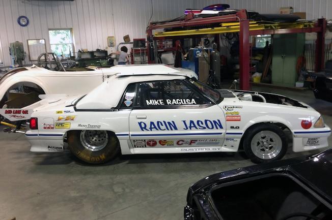 1987 Ford Mustang Racin Jason Side View