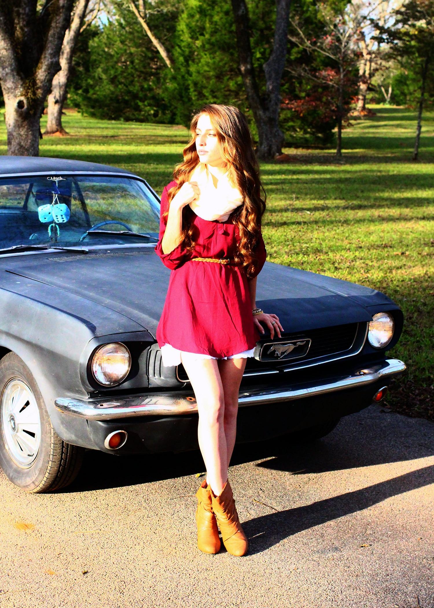 1966 Ford Mustang Melissa Wyatt Mustang Girl Monday 05