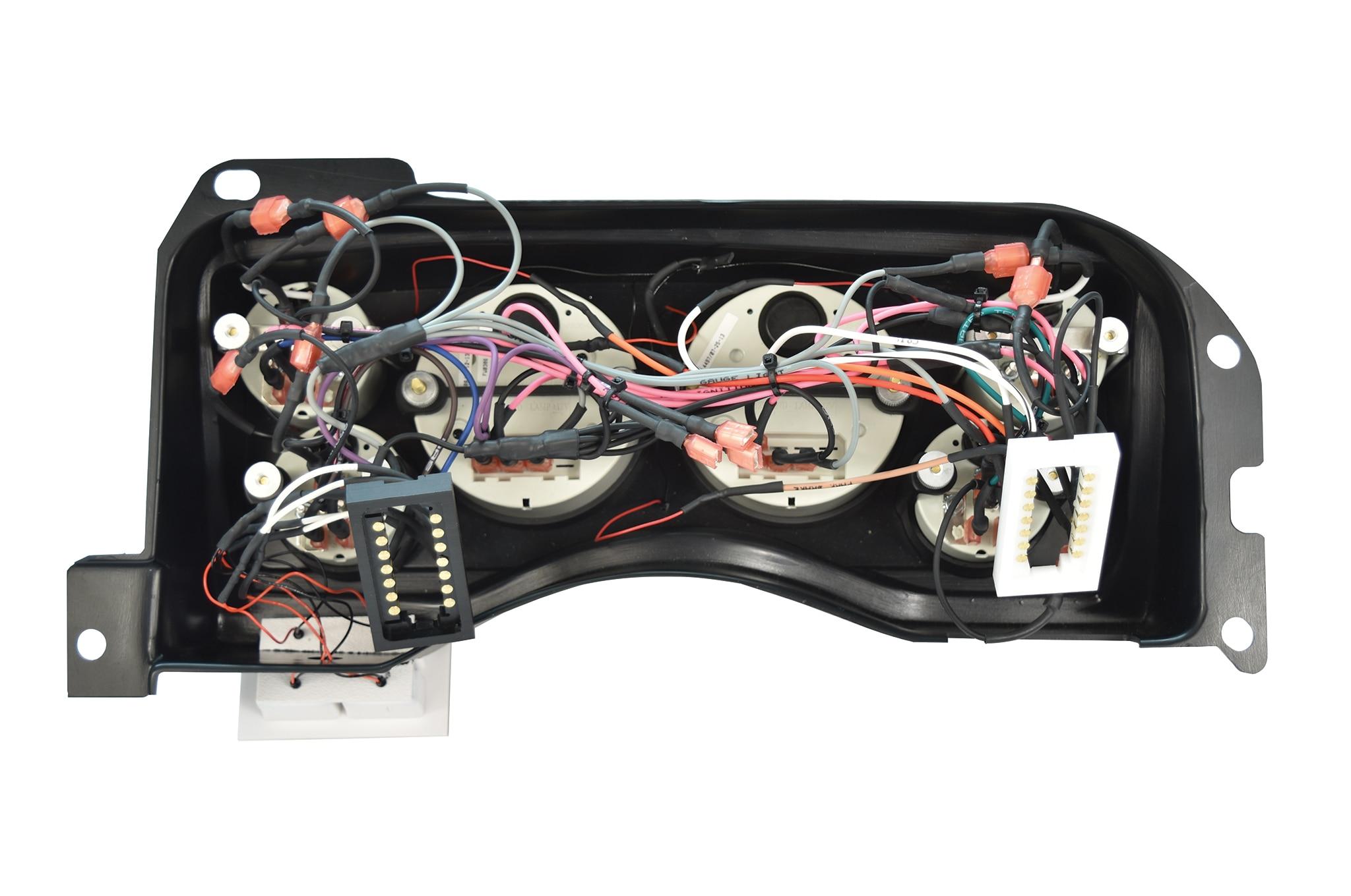 9 Installing Fox Body Classic Dash Gauge Panel