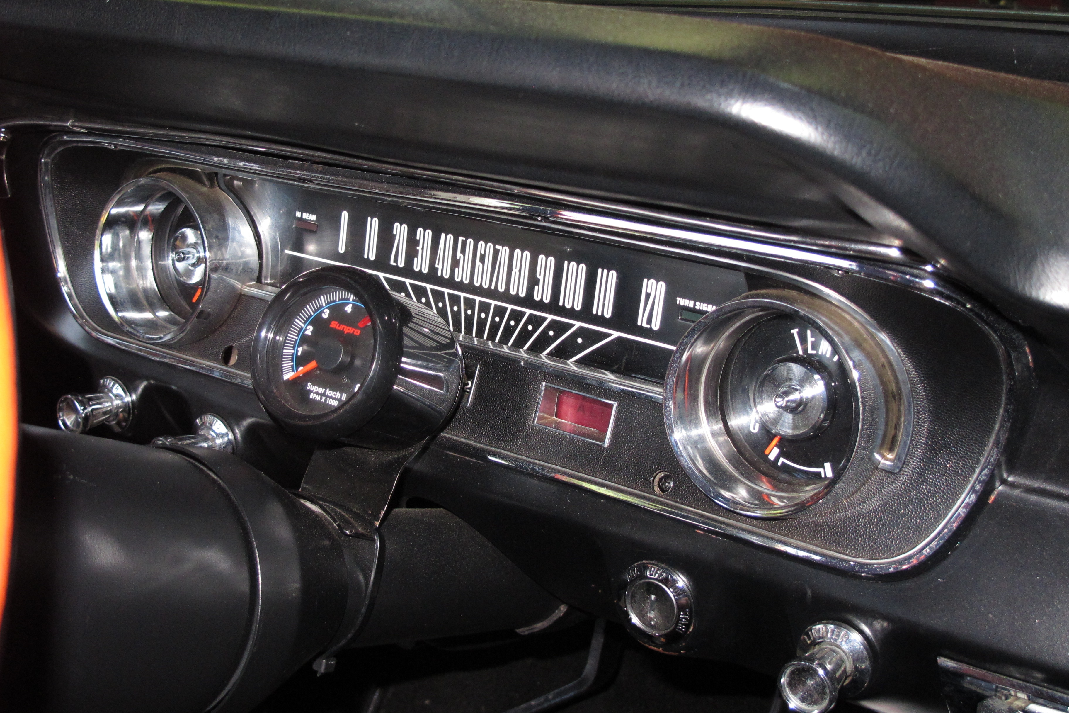3 1965 Ford Mustang Interior