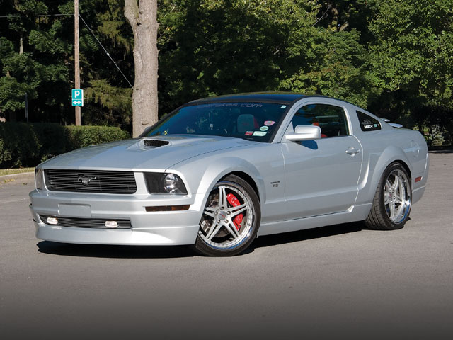 2005 Ford Mustang Svc Sideview