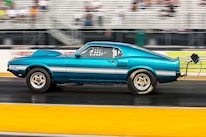 15 1969 Ford Mustang Side View