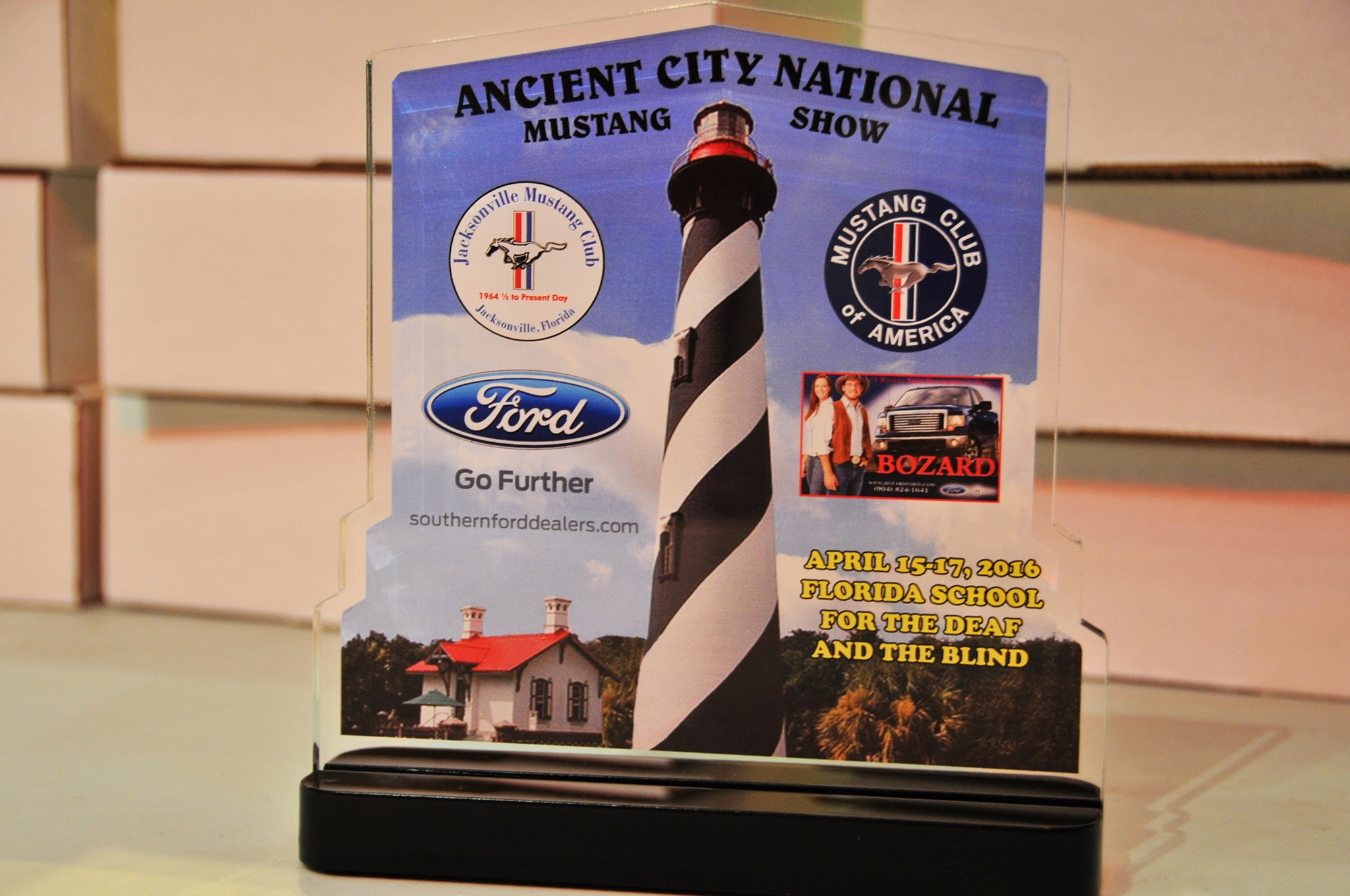 2016 Ancient City Mustang Show St Augustine 095