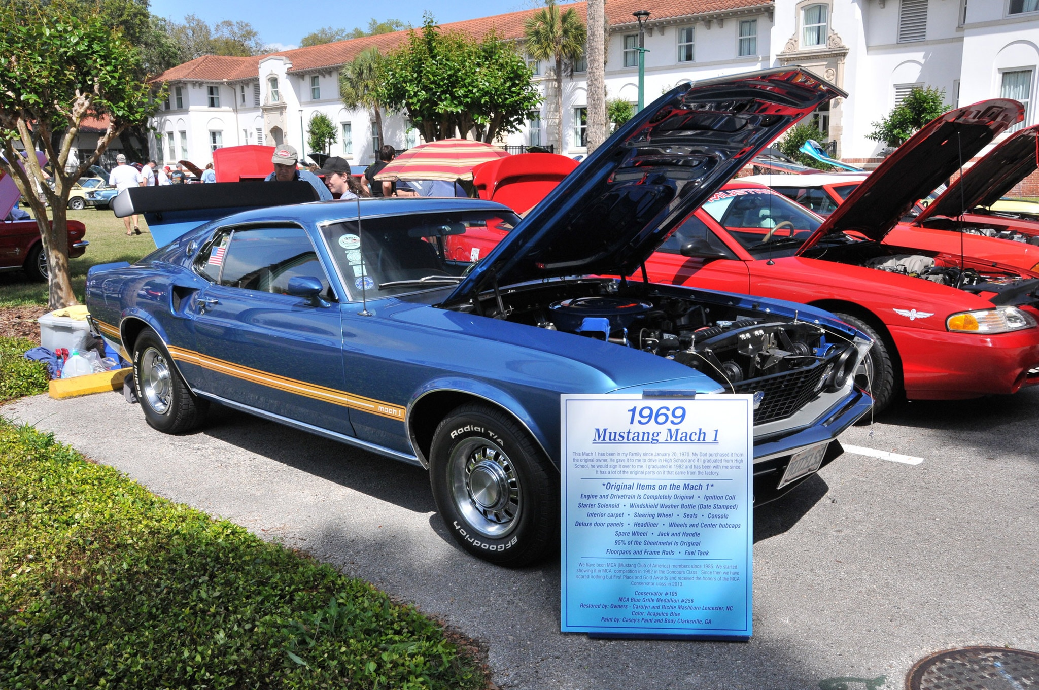 2016 Ancient City Mustang Show St Augustine 059