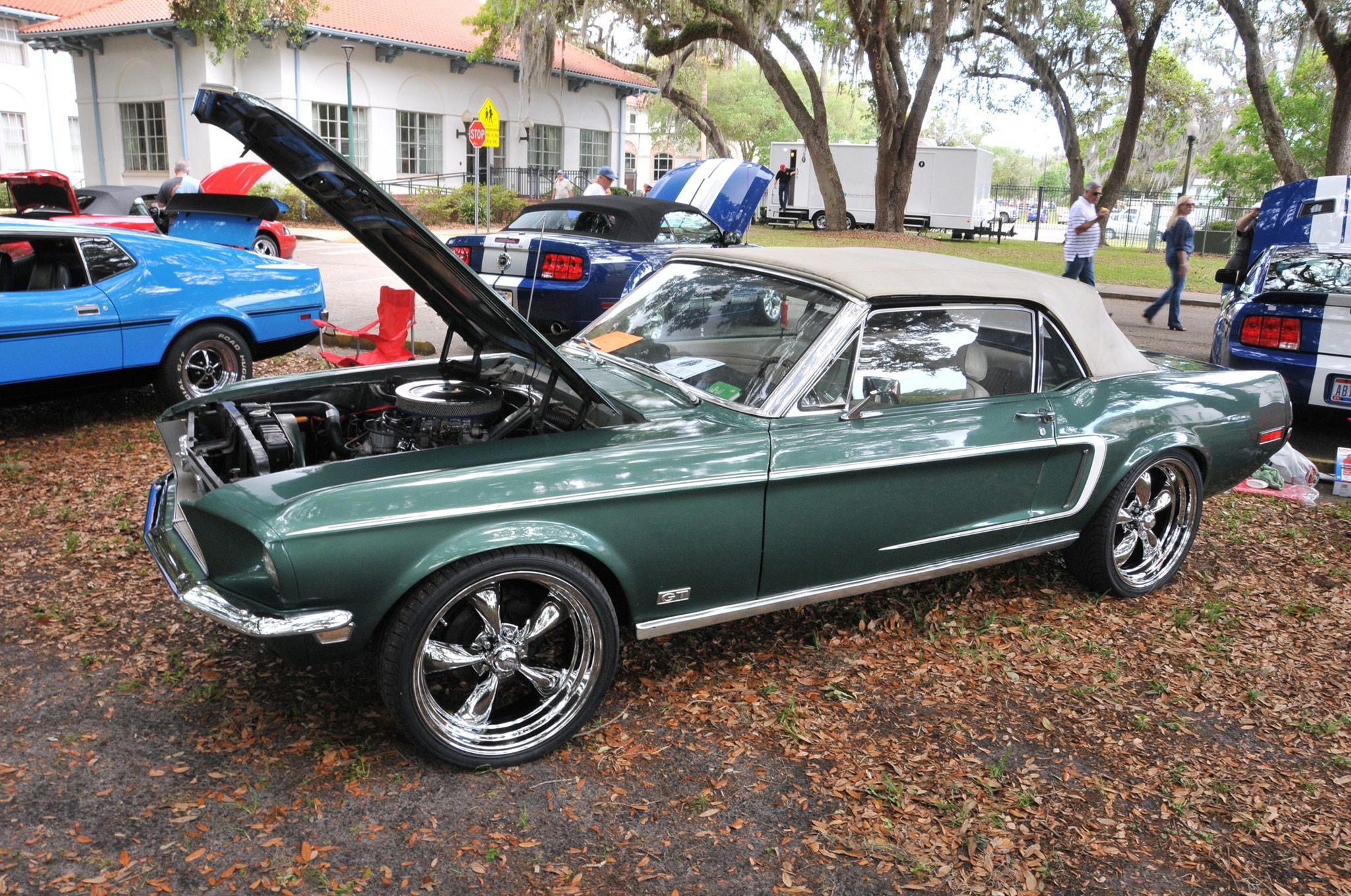 2016 Ancient City Mustang Show St Augustine 046