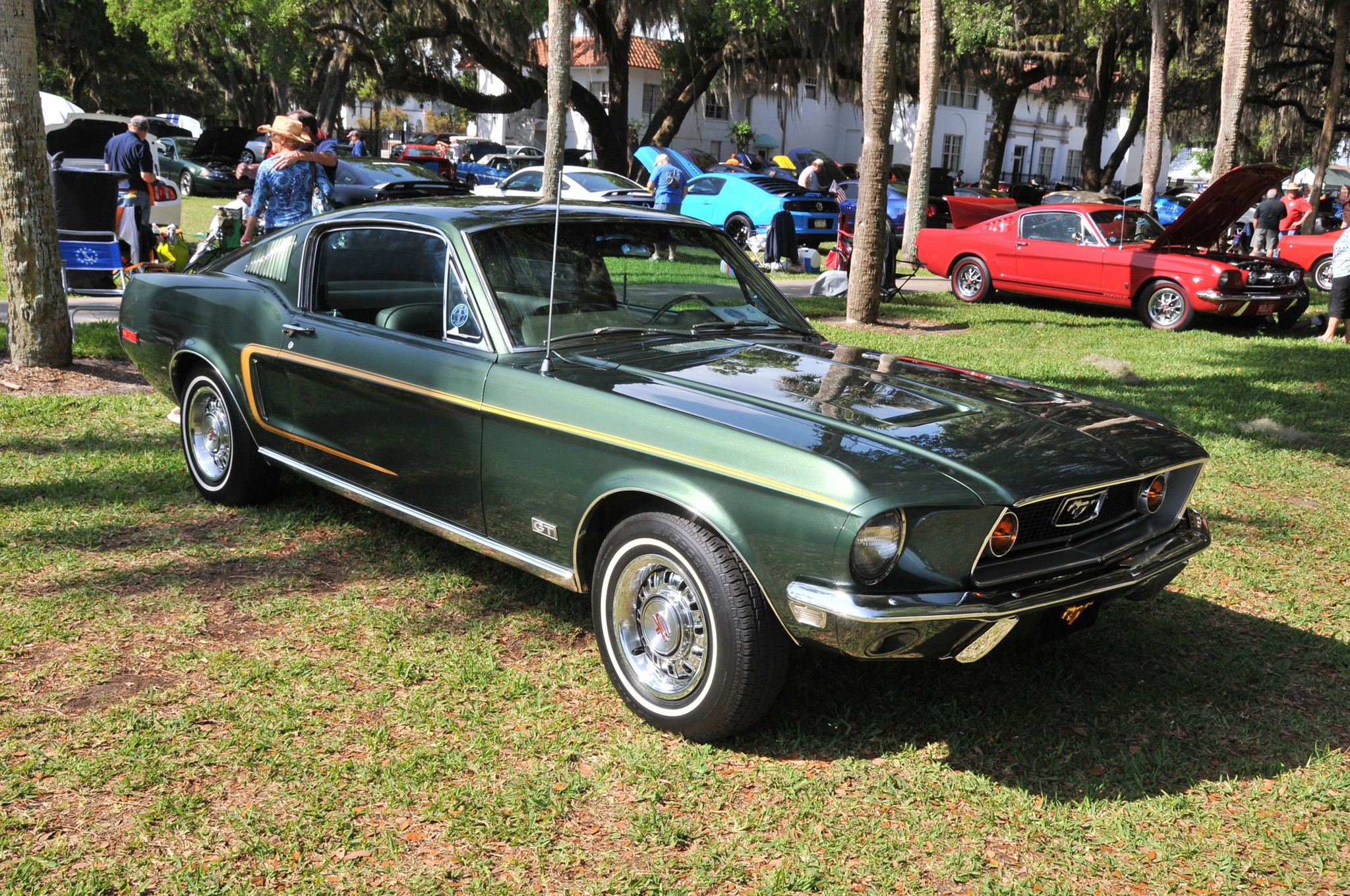 2016 Ancient City Mustang Show St Augustine 031