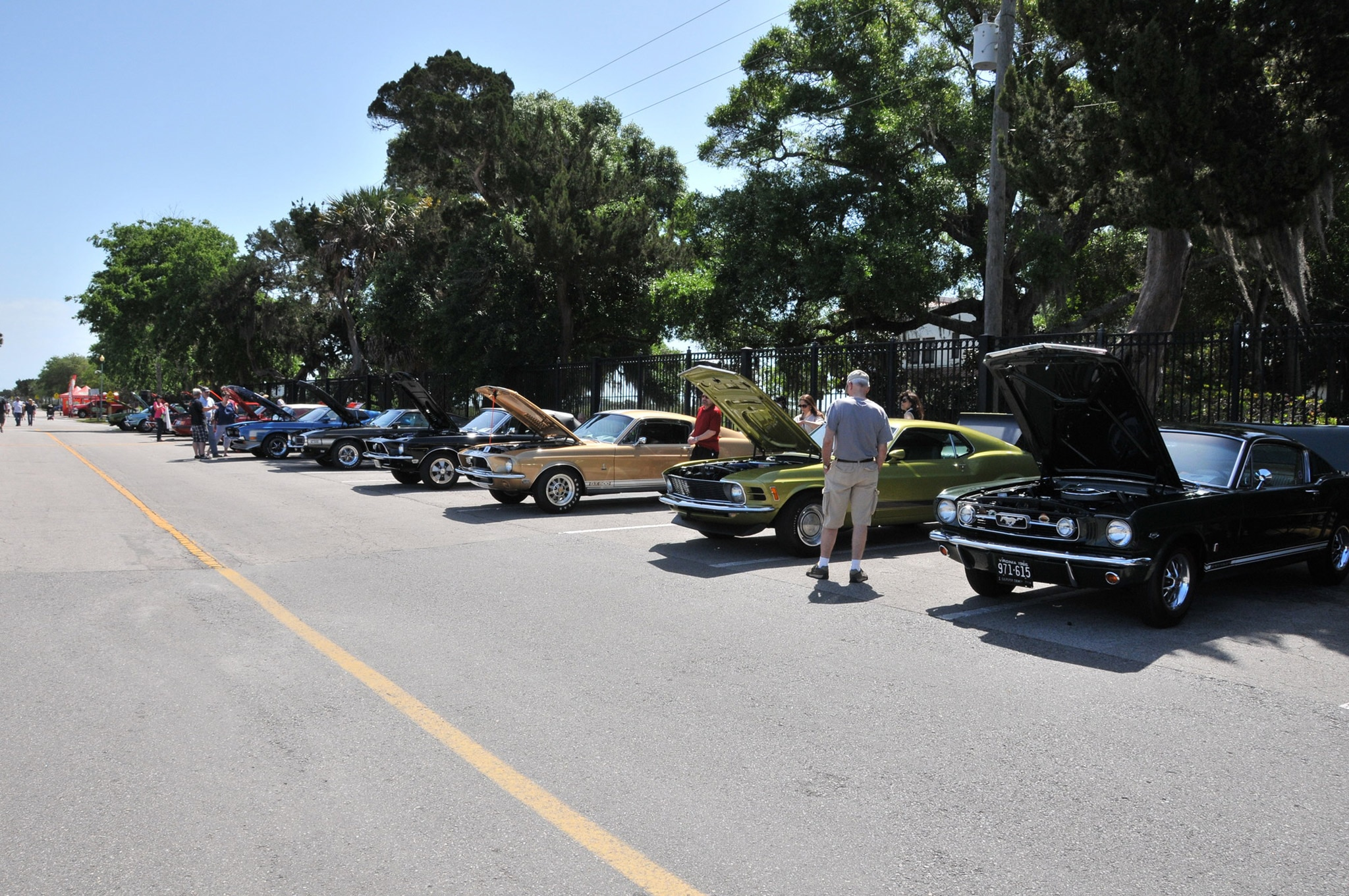 2016 Ancient City Mustang Show St Augustine 003