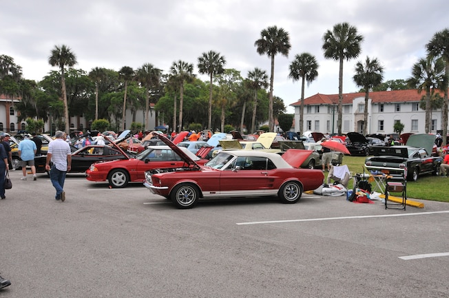 2016 Ancient City Mustang Show St Augustine 001