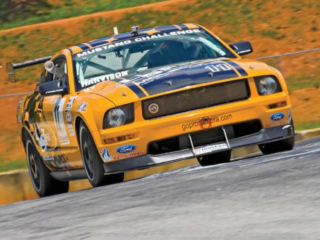 Ford Racing Mustang Challege Yellow Mustang