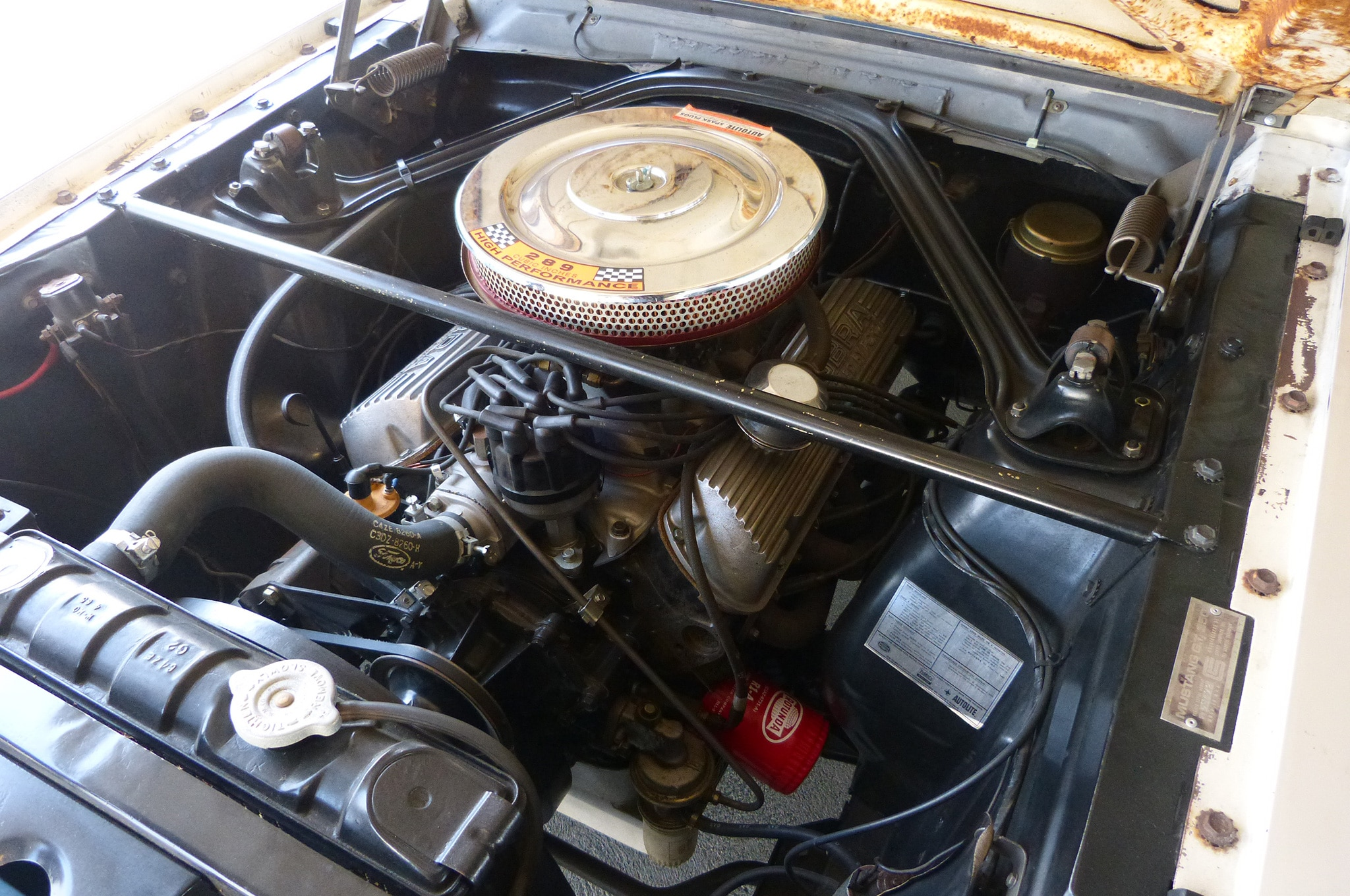 06 1965 Ford Mustang Shelby Gt350 Engine