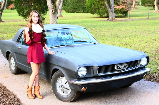 1966 Ford Mustang Melissa Wyatt Mustang Girl Monday 01