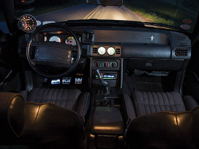 1993 Ford Mustang Gt Interior View