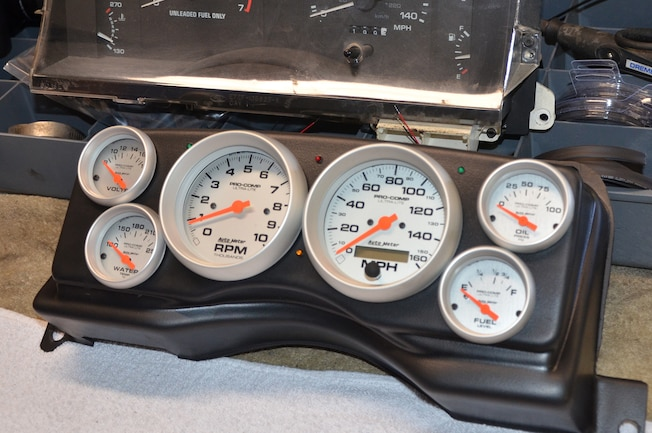 1 Installing Fox Body Classic Dash Gauge Panel Hd