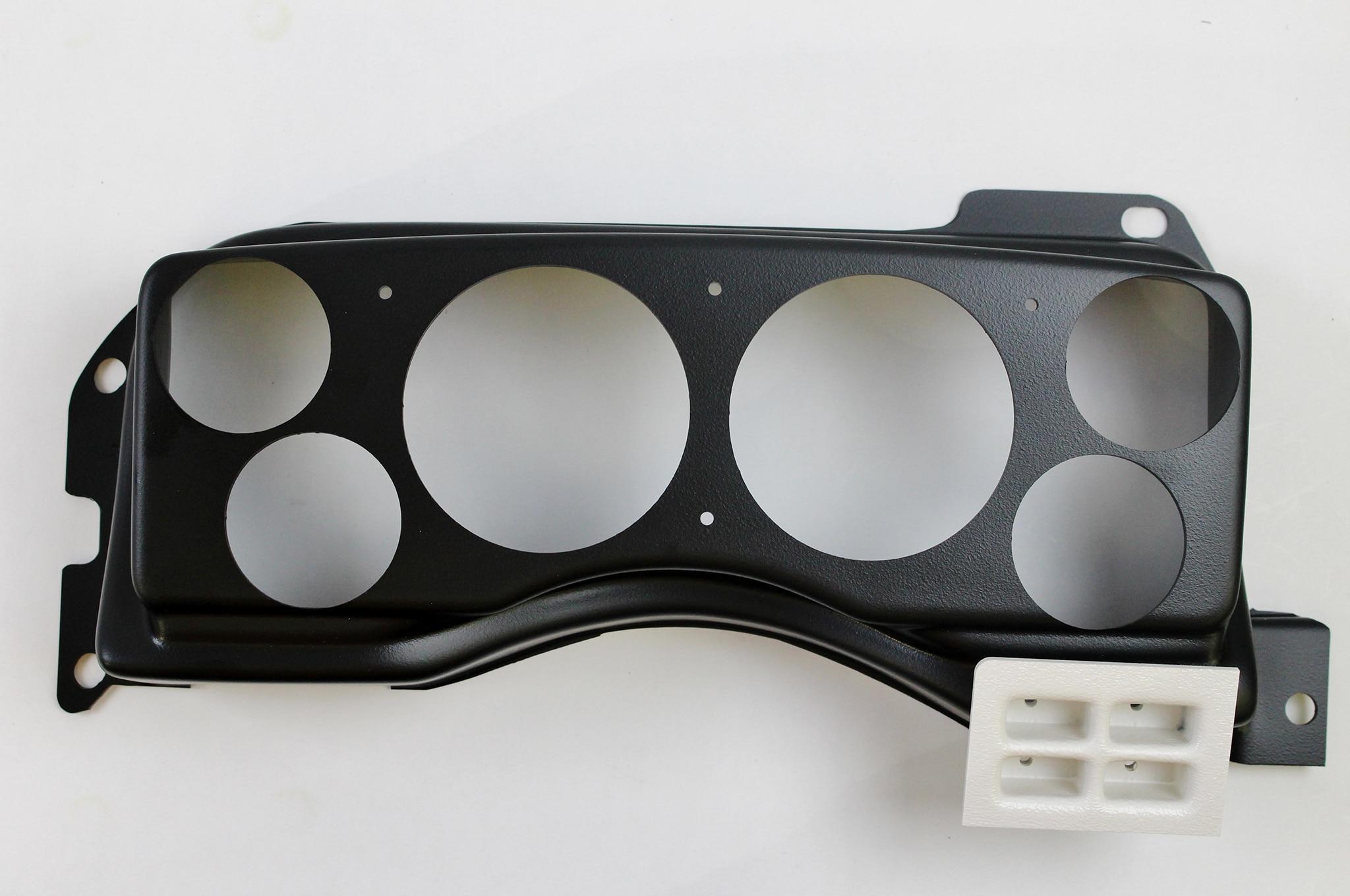 5 Installing Fox Body Classic Dash Gauge Panel