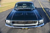21 1968 Ford Mustang Front View