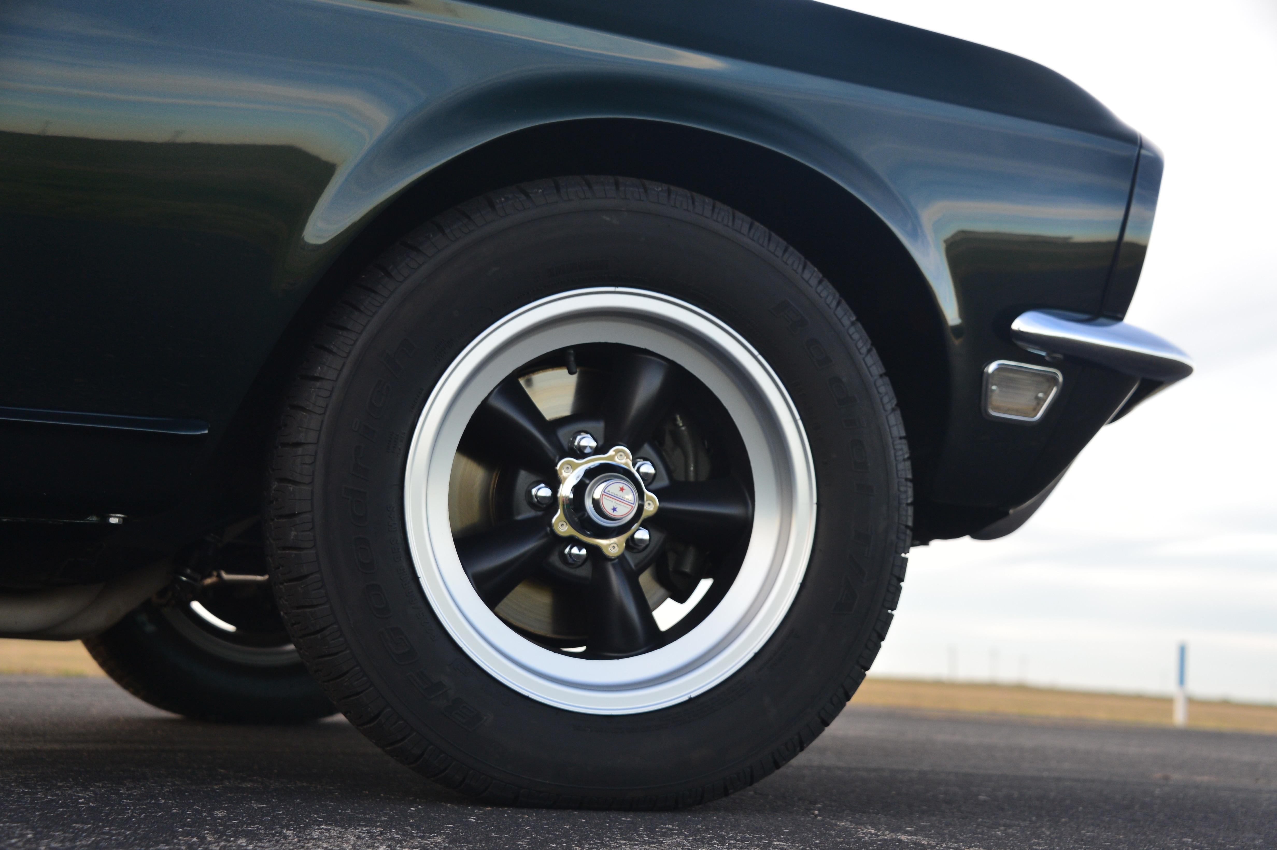 29 1968 Ford Mustang American Racing Wheels