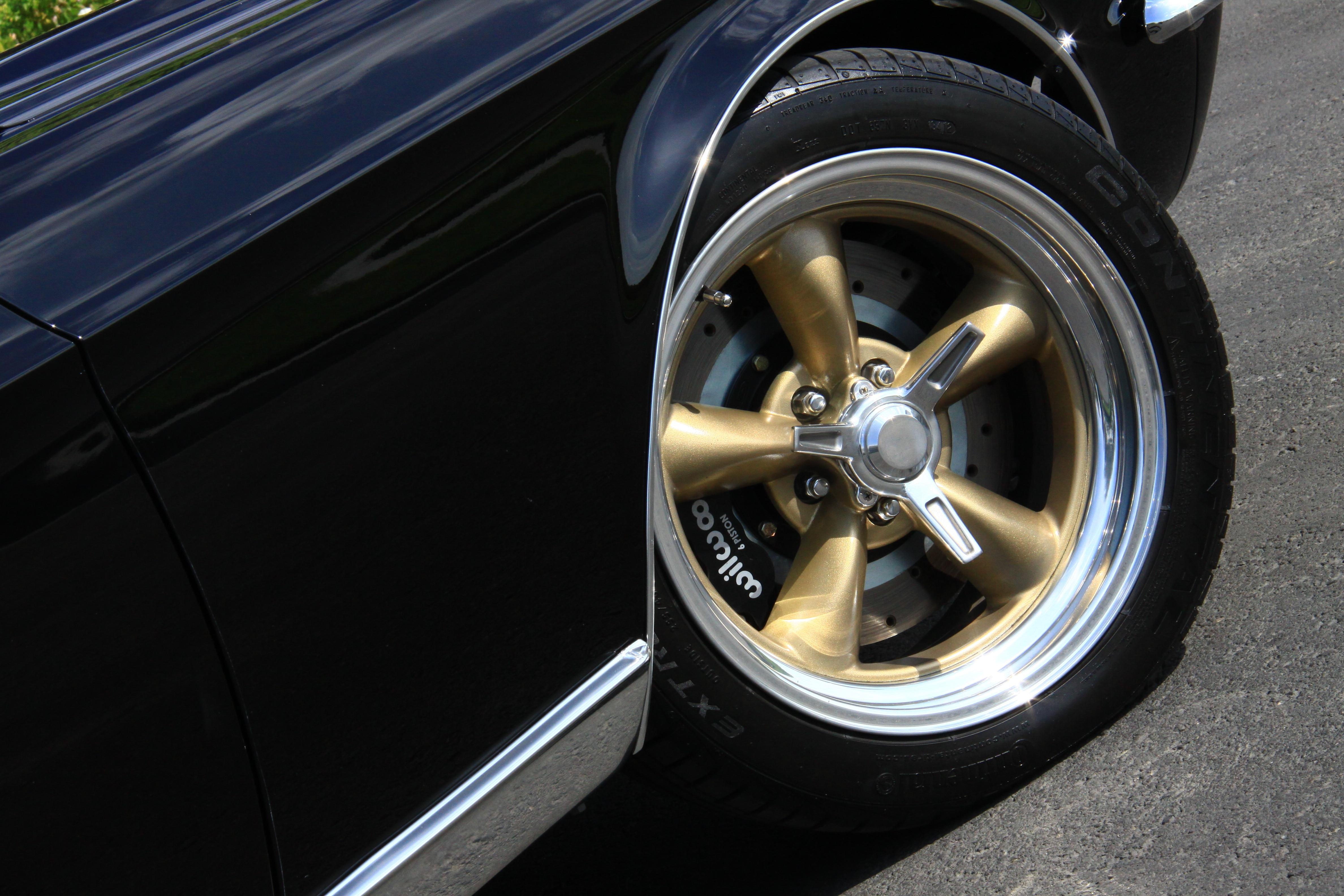 6 1967 Ford Mustang Vintage 45 Wheels