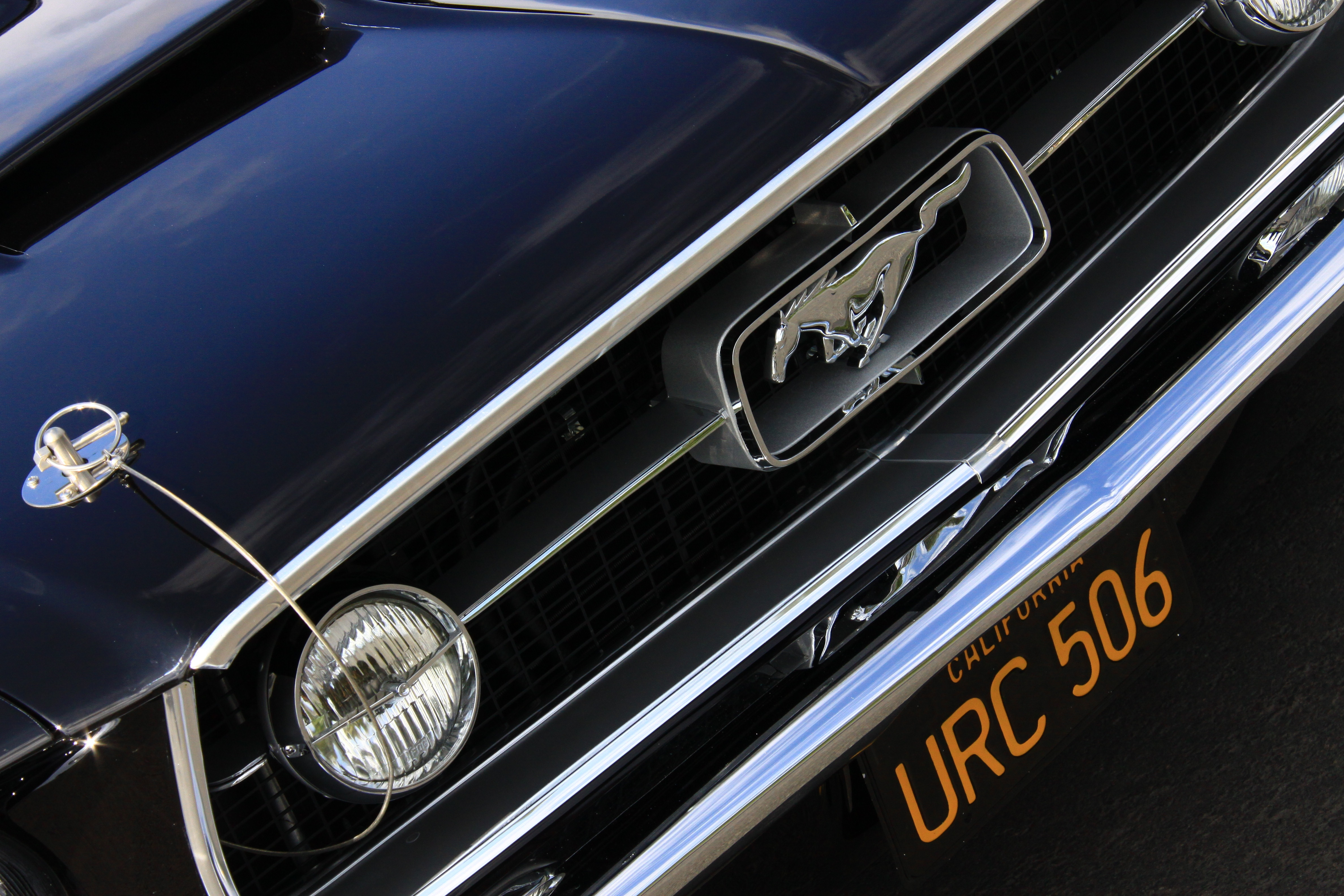 7 1967 Ford Mustang Fastback Grille