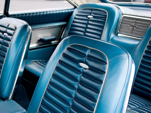 1964 Ford Galaxie 500 Xl Interior Seats