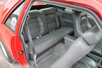 1986 Ford Mustang Svo Coyote Vermillion Red Backseat