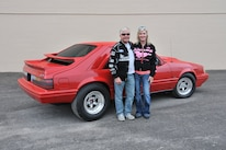 1986 Ford Mustang Svo Coyote Vermillion Red Vance